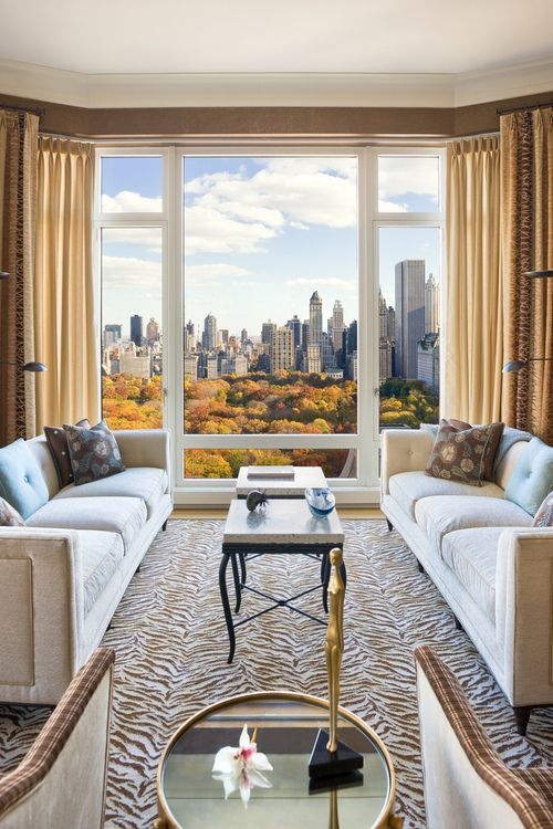 NY Apartment . Central Park . Awesome View . Panorama . NYC . New York .