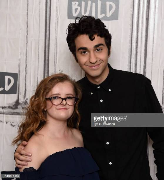 Actors Milly Shapiro And Alex Wolff Visit Build Series To Promote Hereditary At