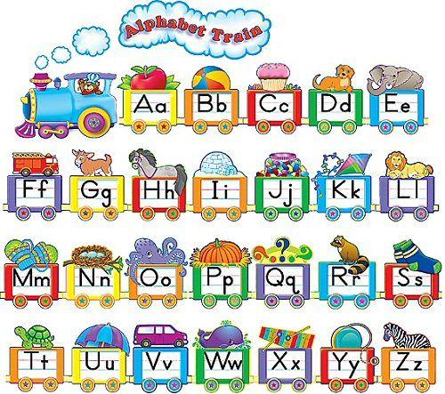 Free Classroom Decoration Resources : Alphabet train classroom decoration school