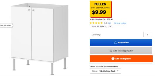 Super Ikea Fullen Sink Cabinet Hack District Of Decor Ikea Download Free Architecture Designs Intelgarnamadebymaigaardcom