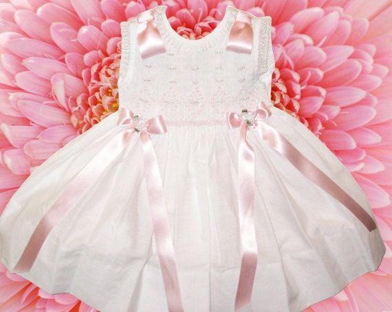 Designer Girls Dress Heirloom Girls Dress by HeirloomGiftShoppe