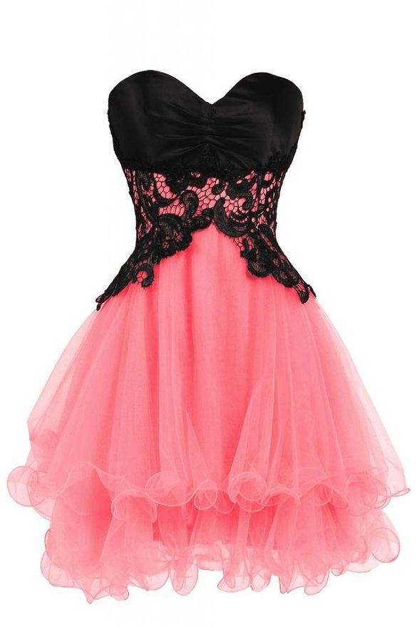 Ellames Sweetheart Cocktail Short Prom Homecoming Party Dresses For ...