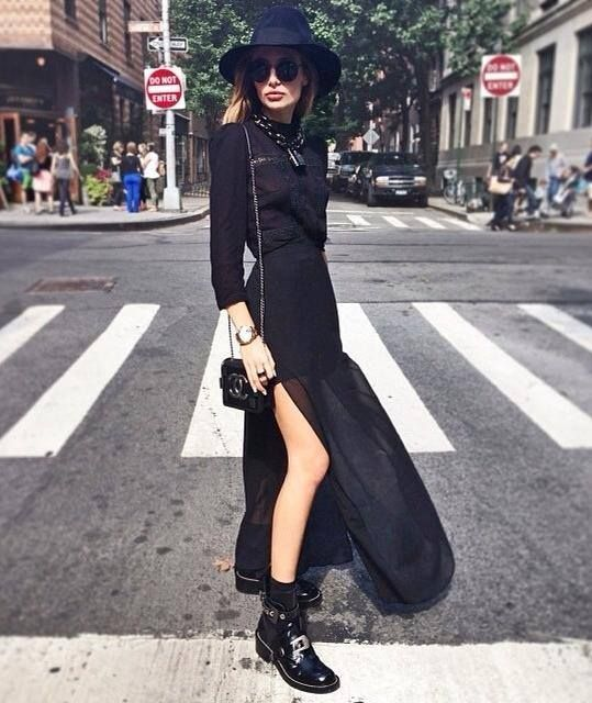 Pin by Cezarina Rizea on All Black | Fashion, Coven ...