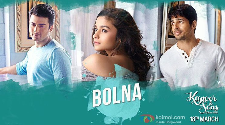 Bolna Full Mp3 Song Download Online Now Songs For Sons Kapoor