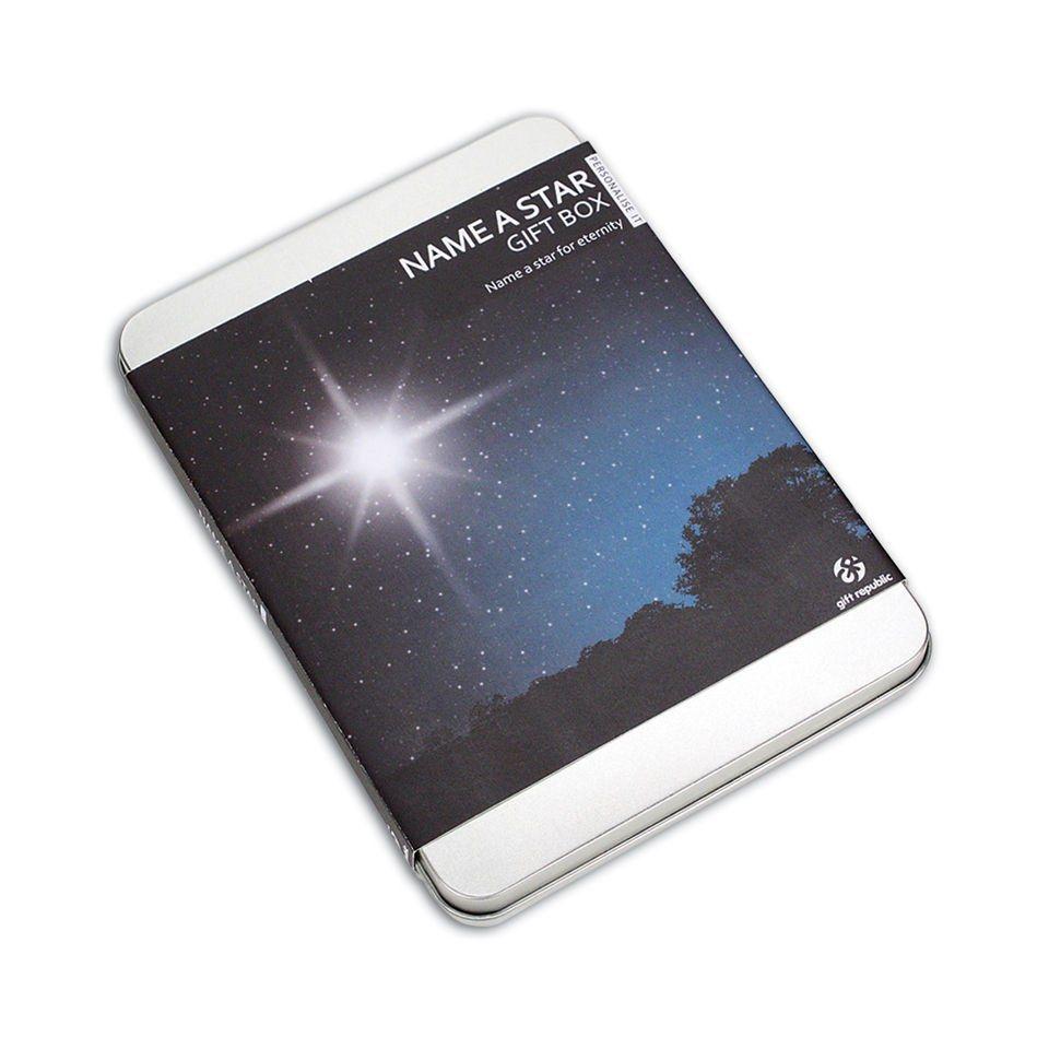 Name a Star Gift Box   Box, Star and Gift