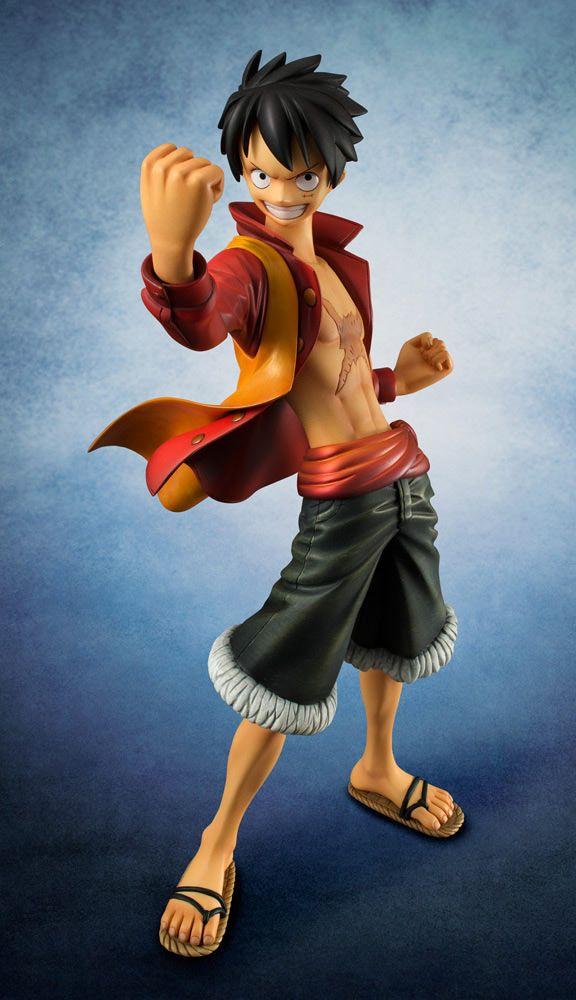 "Estatua Monkey D. Luffy Edition Z 21 cm. One Piece. Línea P.O.P. Megahouse Espectacular estatua de Monkey D. Luffy Edition Z de 21 cm de altura del manga/anime ""One Piece"" de la línea ""Excellent Model P.O.P"" (Portatit Of Pirates). Viene con accesorios en una caja con ventana."