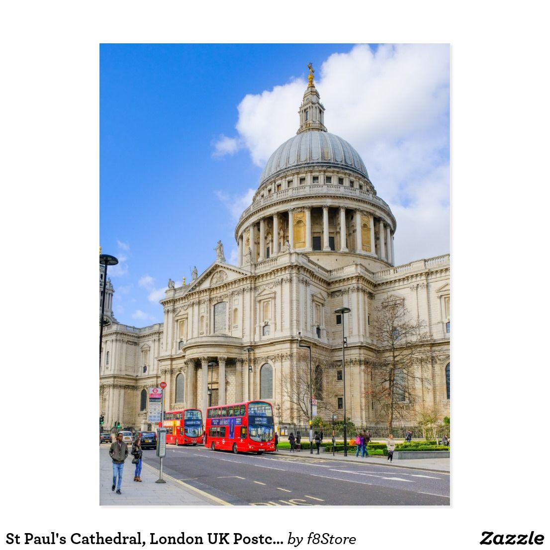 St Paul s Cathedral London UK Postcard