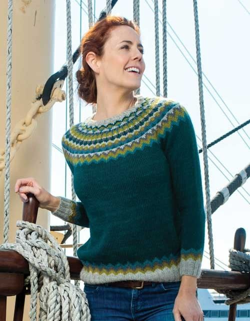 Clawthorpe Pullover Knitting Pattern   Knitting patterns, Pullover ...