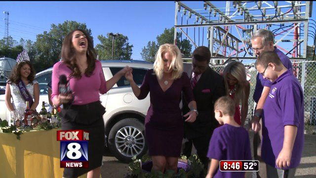 It's a Fox 8 News in the Morning tradition and this year it was Skyfox reporter Patty Harken's turn to stomp some grapes as she learned more about the 51st Geneva Grape Jamboree. Click here to lea...