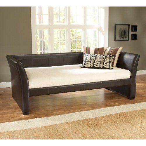 Hillsdale Furniture 1519db Malibu Day Bed Brown Leather