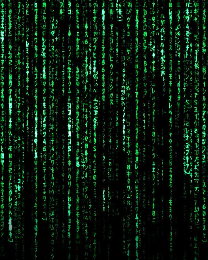 The Matrix Code Free Animated Wallpaper Film Poster Design Matrix