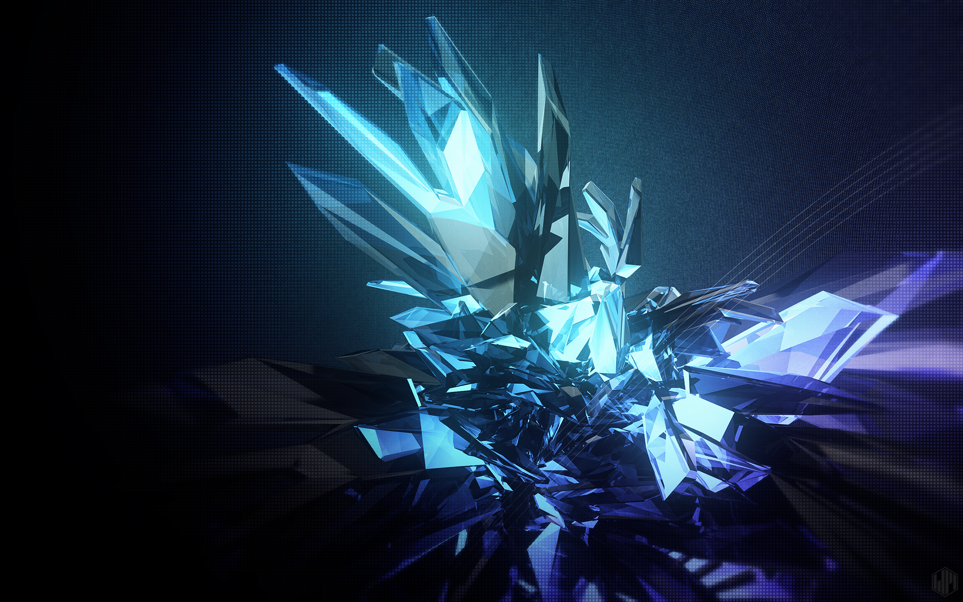 Ice Crystal Crystals Planets Wallpaper Widescreen Wallpaper