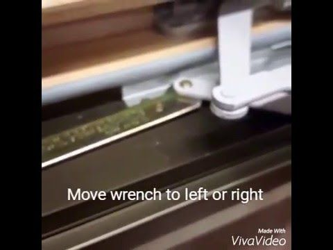 Shows You How To Adjust A Truth Cat Hinge Keep The Sash From Sagging And Get Window Close
