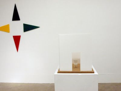 art is a word: installation of small works