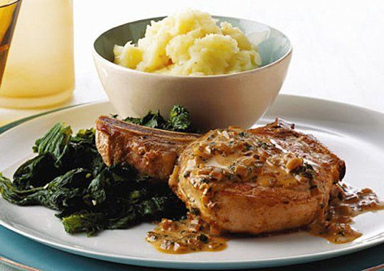 This time of year, it seems like we're asked to simultaneously slow down and speed up. Recipes for slow-cooked braises and yeast-risen baked goods are everywhere. But then we're also grabbing quick snacks as we rush out the door for another jam-packed day. The happy middle ground? A warm, satisfying, and surprisingly quick pork chop dinner.