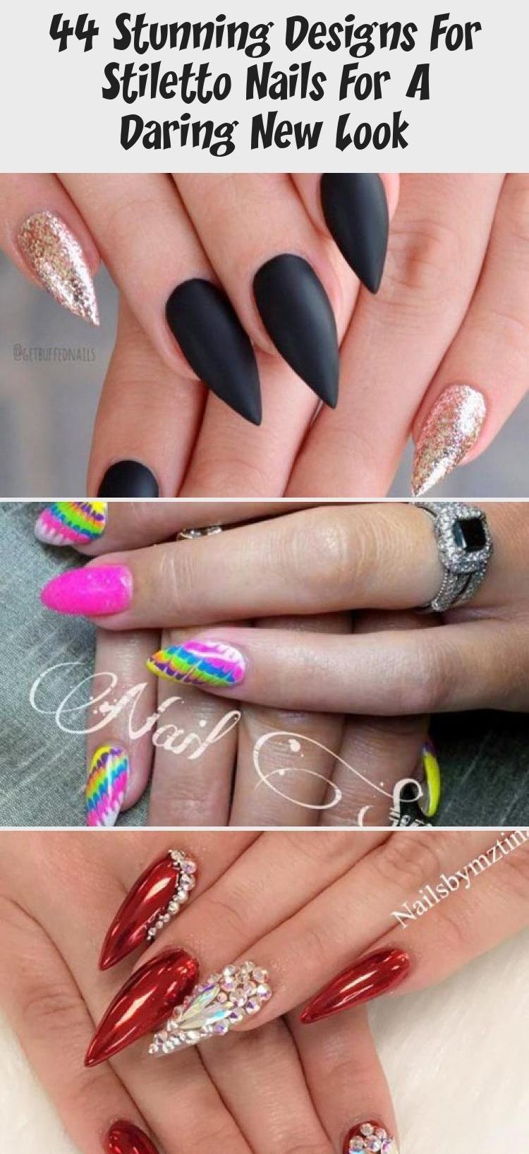 Hair Styles - in 2020   Stiletto nails designs, Stiletto