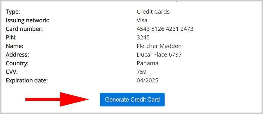 Working Credit Card Generator That Work With Money And Security Code 2020 Valid Cc Generator Numbers Wi Gift Card Number Visa Card Numbers Credit Card Numbers