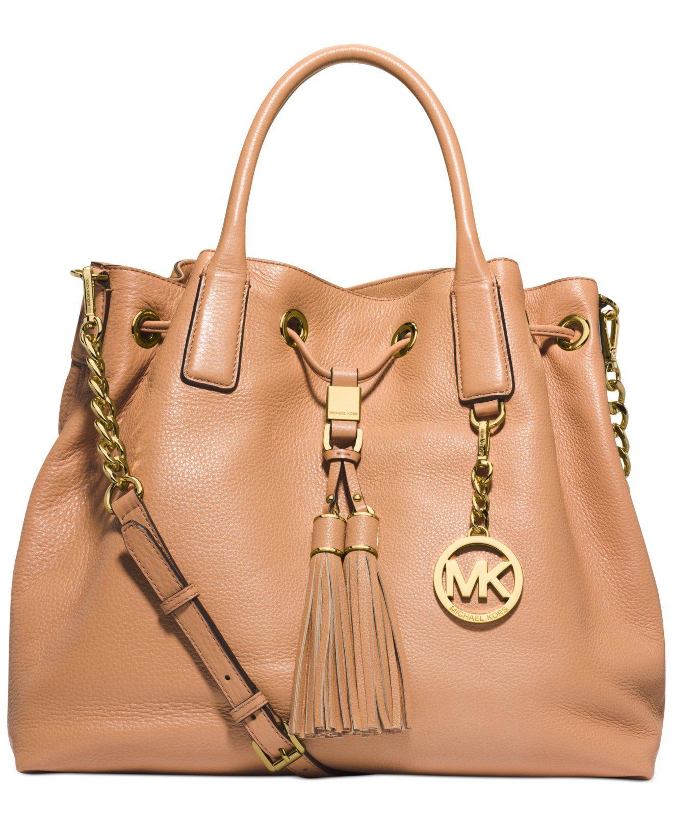 ce59b52735fb4 MICHAEL Michael Kors Camden Large Drawstring Satchel - Michael Kors  Handbags - Handbags   Accessories - Macy s