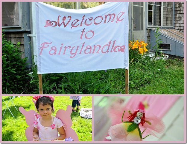Tuffet: Amelia's Fairy Party!!!