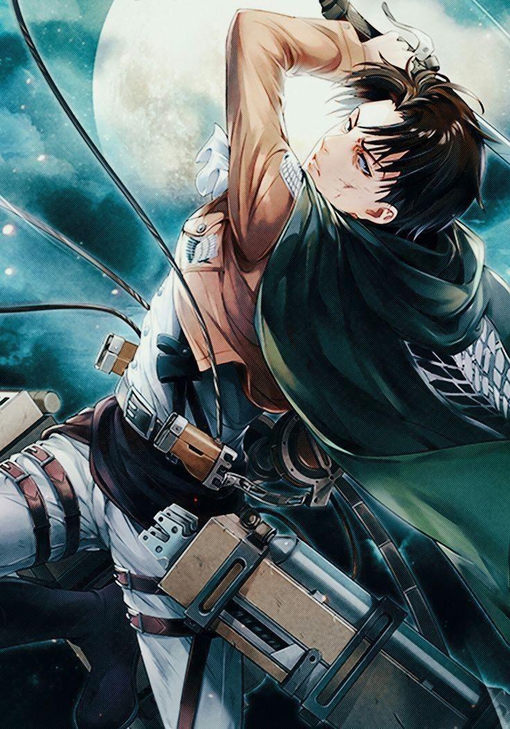 Badass Captain Levi Attackontitans Attack On Titan Fanart Attack On Titan Levi Attack On Titan Anime