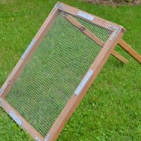 Make Your Own Soil Sifter Compost Diy Compost Soil