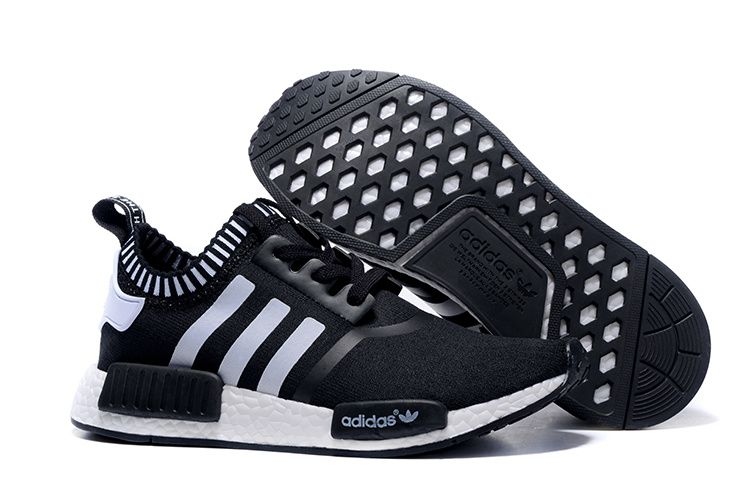 Buy 2016 Adidas Originals NMD Runner Primeknit Homme Running Chaussures  Noir Blanc (Adidas Nmd Nice Kicks) from Reliable 2016 Adidas Originals NMD  Runner ...