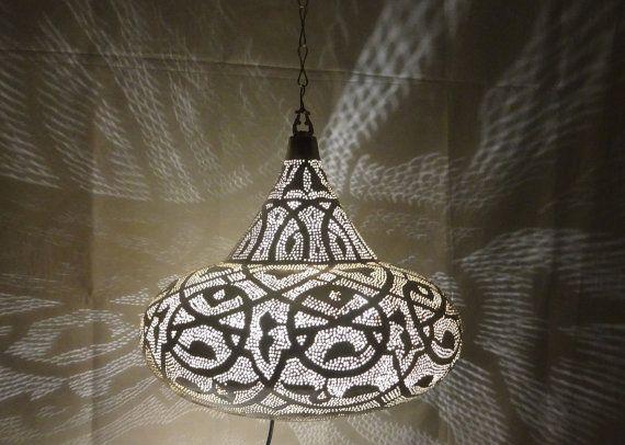 Ufo handmade hanging light shadow chandelier metal silver color ufo handmade hanging light shadow chandelier by pharaohmooseale aloadofball Choice Image