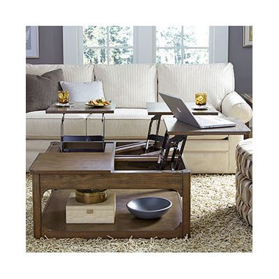 Modern Hammary Facet Coffee Table With Lift Top | AllModern