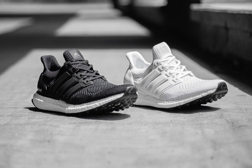 23fc0619ed5de adidas Ultra Boost Black   White Pack