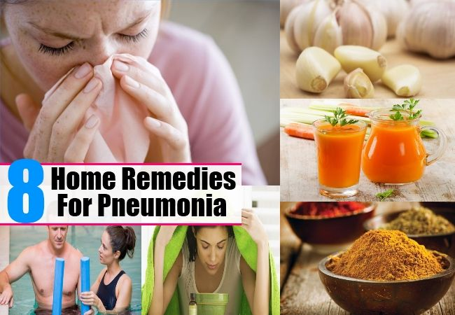 Pneumonia Bronchitis Home Remedies