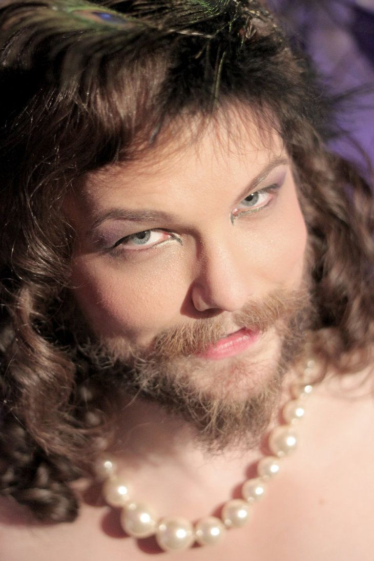 How i became a bearded transvestite
