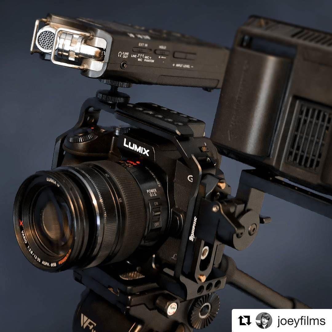 Video Camera Cage for Paenasonic Lumix DMC G85//G80 Cameras