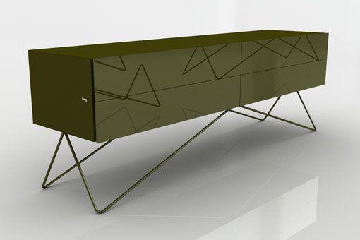 Credenza Con Puertas : W sien design pinterest credenza furniture ideas and storage