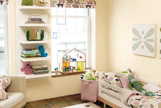 ainting Ideas - Nursery Colors & Painting Kids Rooms | Yellow kids rooms,  Kids room paint, Kids room lighting