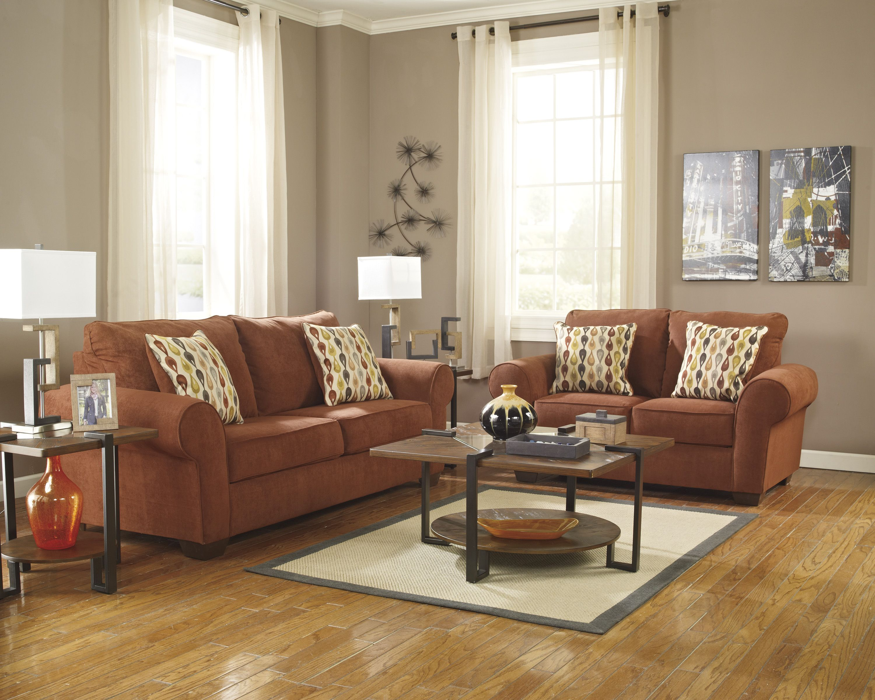 Terracotta Orange Colors And Matching Interior Design Color Schemes -