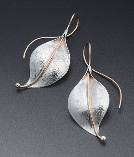 Deborah richardson leaf earring earrings pinterest leaves deborah richardson leaf earring sterling silver jewelryjewelry mozeypictures Image collections