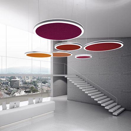 YDOL Relax Light Büros Pinterest Akustik, Aufenthaltsraum - futuristische buro einrichtung mit metall 3d wandpaneelen