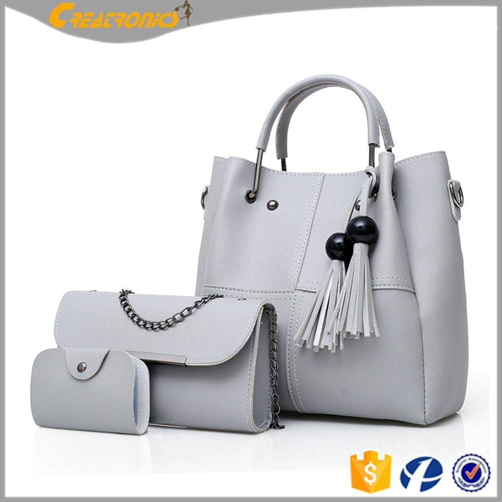 Hong Kong Closeout Gray Leather Crossbody Bag Shoulder Bag for Women Ladies Mothers Day Gifts