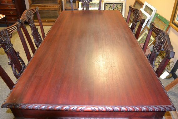 Victorian Mahogany Dining Table By OakParkAntiques On Etsy, $995.00