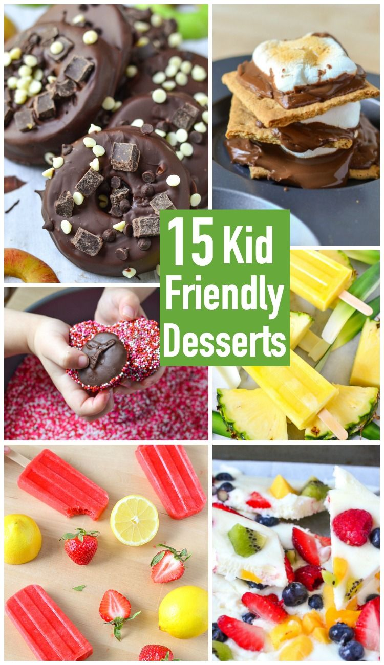 Easy family friendly dessert recipes