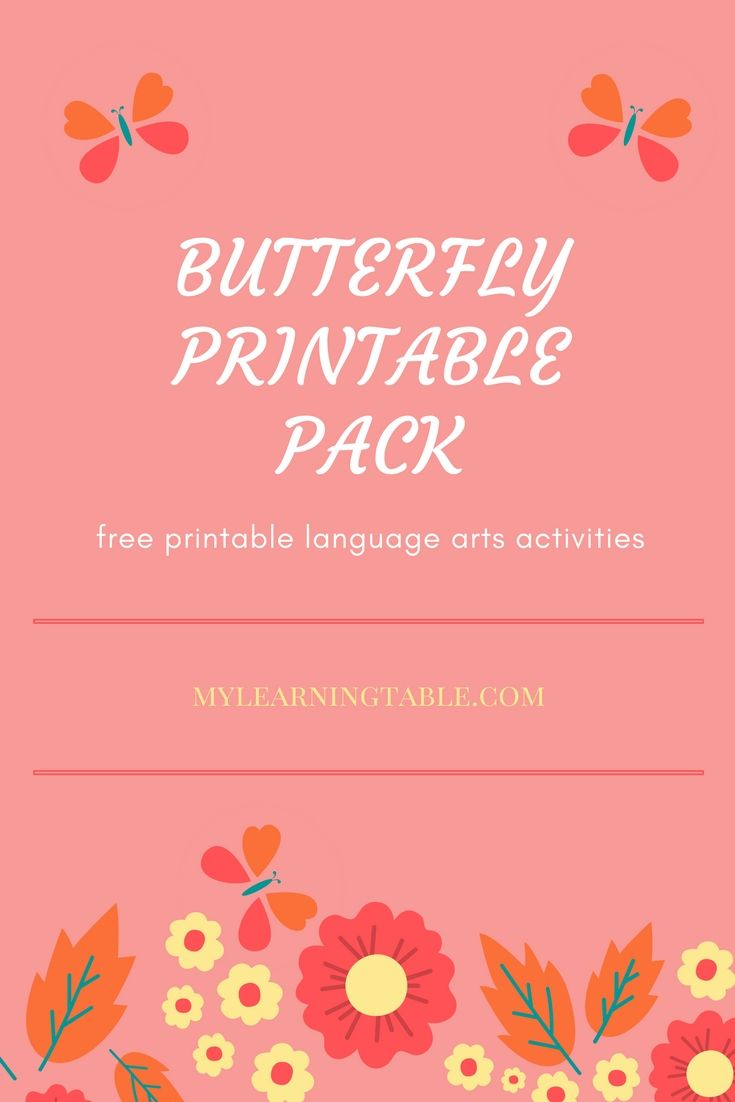 what to read wednesday butterfly books for kids free printable