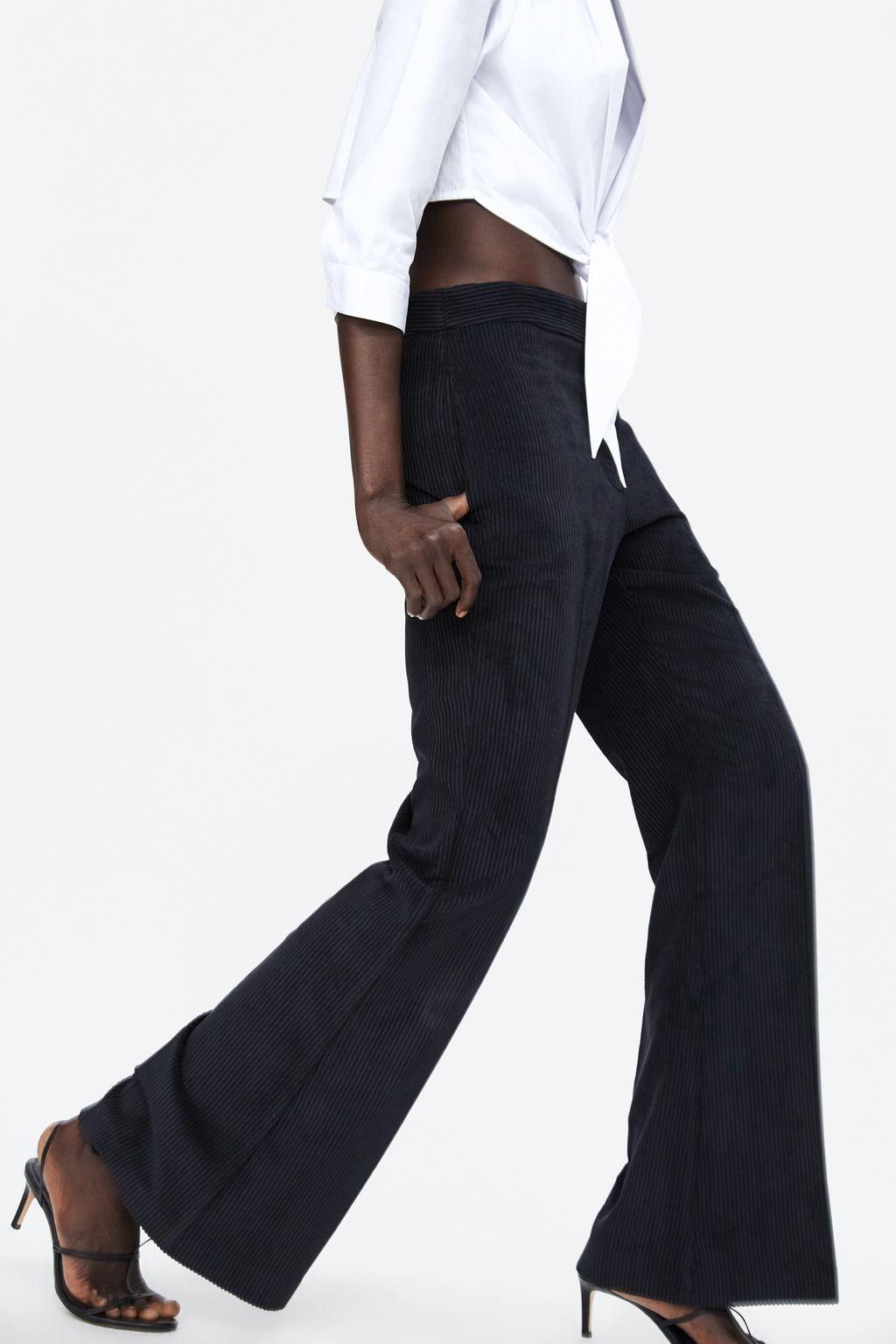 9485cb70 Image 5 of VELVETEEN PANTS from Zara | Fall shop in 2018 | Pinterest ...