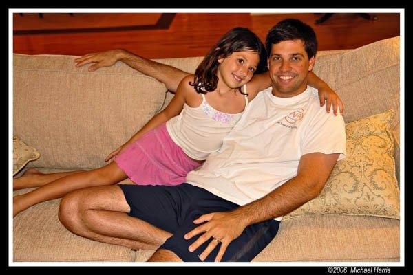 Gayle Guyardos Husband Mark and Daughter Lindsay