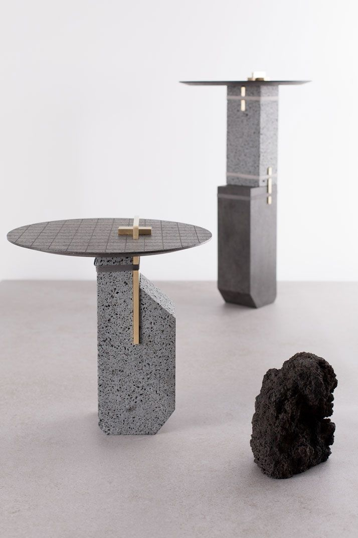 A Force of Nature: Studio Formafantasma Transforms Volcanic Rocks into Design Objects | Yatzer