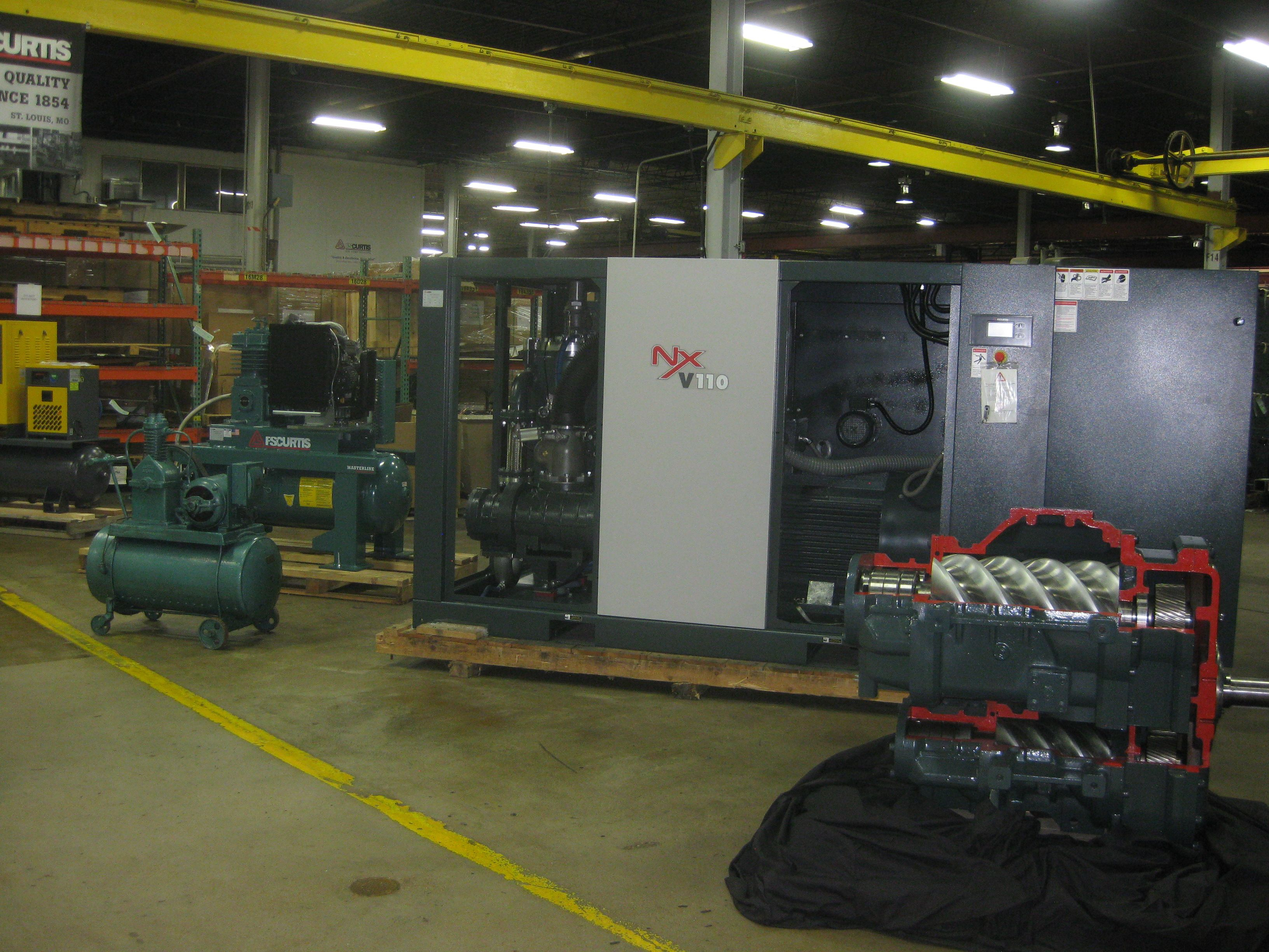 ROTARY SCREW COMPRESSORS, ROTARY COMPRESSORS, AIR