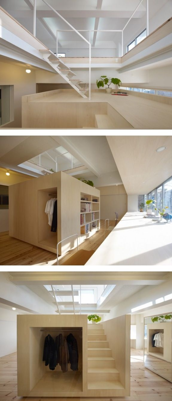 The Megurohoncho House by Torafu Architects