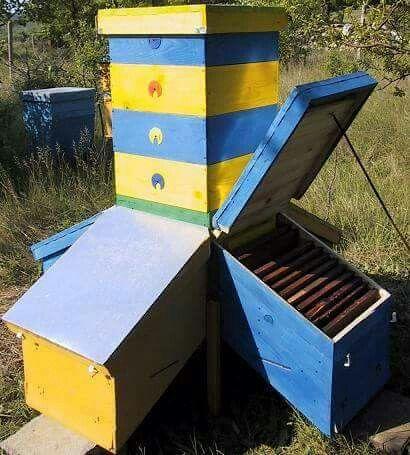 pin von bee keeperz auf hives pinterest bienen bienenhaus und honig. Black Bedroom Furniture Sets. Home Design Ideas