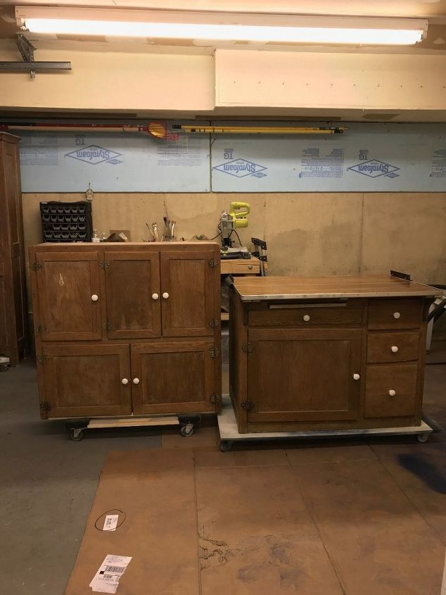 Hoosier Cabinet Made Into A Coffee Bar Architect Salvage