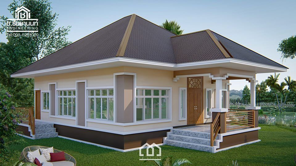 10 Contemporary House Designs With Floor Plan Perfect For Modern Family Contemporary House Design Modern Bungalow House Flat House Design