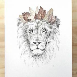 le tatouage lion quel est sa signification et quelles sont. Black Bedroom Furniture Sets. Home Design Ideas